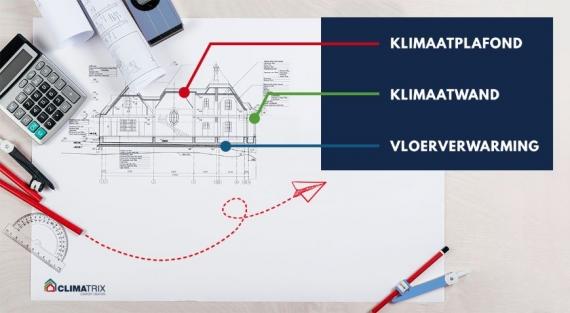 Waarom architecten voor vloer-, wand- en plafondverwarming kiezen